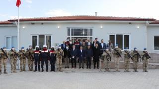 Akdağ Geçici Jandarma Asayiş Karakolu hizmete başladı