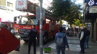 Manisa'da bir lokantada çıkan yangın hasara neden oldu