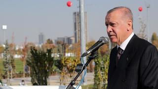 Cumhurbaşkanı Erdoğan'dan Millet Bahçesi paylaşımı