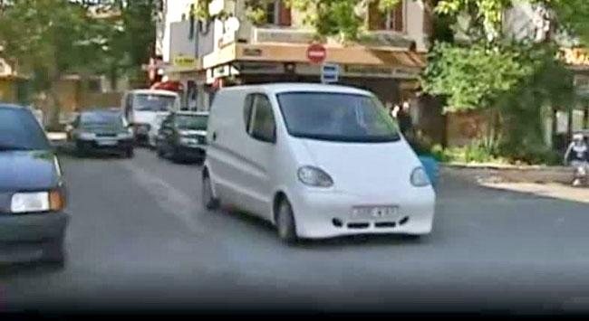 Fransızlardan havayla çalışan otomobil
