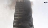Rusya'da gökdelen yangını