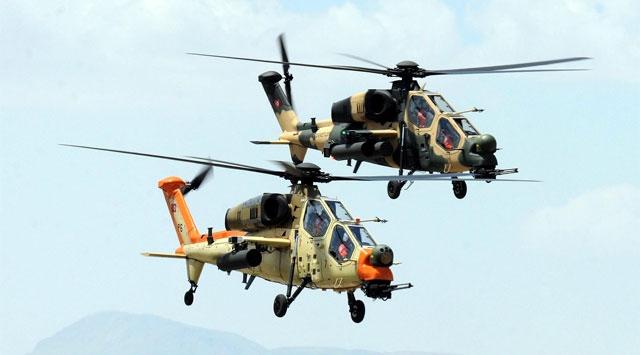 Milli helikopter ATAK dünyaya nam saldı