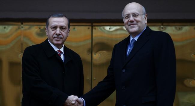Lübnan Başbakanı Mikati Türkiyede