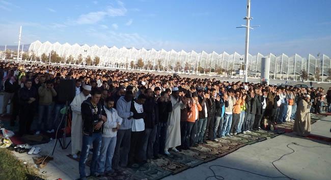 Atinadaki Müslümanları sevindiren haber