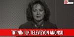 TRTnin ilk televizyon anonsu