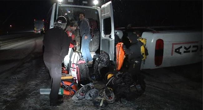 Ankara konya yolu gölbaşı çıkışı 15 inci kilometrede devrildi