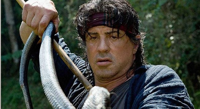 """Rambo""dan Obamaya destek"