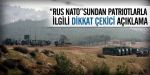 "Rus NATOsundan ""Patriot"" açıklaması"