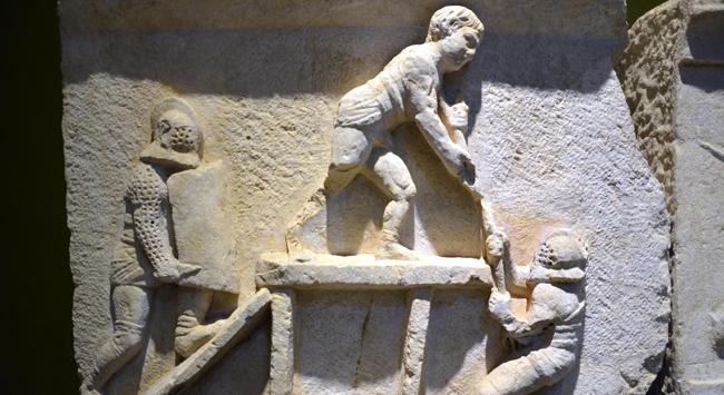 Olarak da bilinen kibyra antik kentini 3 boyutlu olarak gezebiliyor