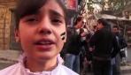 Suriyede patlama anı