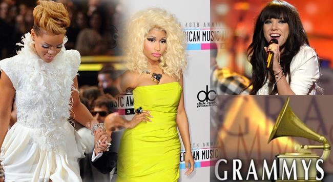 """Grammyde kadın sanatçılara """"dekolte"""" uyarısı"""
