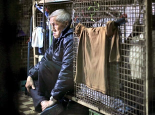 Hong Kongda yoksullara kafes evler….