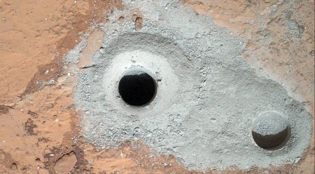 Curiosity Marsta bir ilki gerçekleştirdi