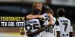 Fenerbahçeye Mersinde tek gol yetti