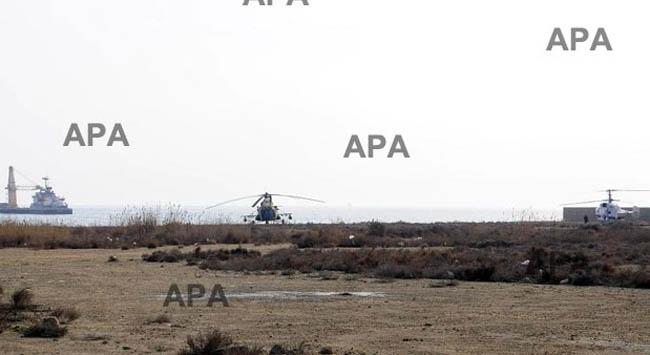 Ambulans helikopter düştü