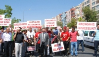 "Antalya'da ""Eşekli"" Protesto"