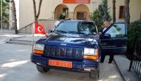 Vali Yazıcıoğlu'nun Cipi Yeniden Yollarda