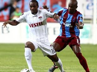 Manisaspor Trabzonspor Maçından Kareler