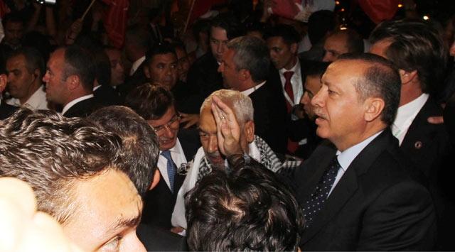 Erdoğana Büyük İlgi