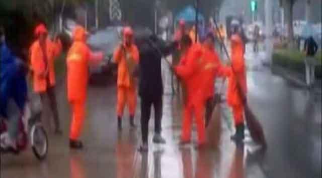 Çinde İlginç Kavga