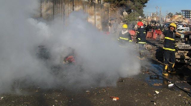 Kerkükte bombalı saldırı