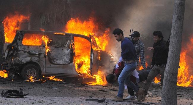 Suriyede şiddet
