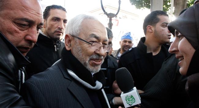 Gannuşi: İslamın terörizmle anılmasını istiyorlar