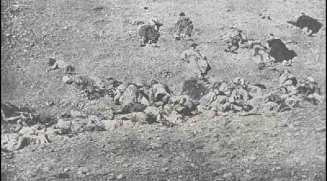 Ermeni çetelerinin büyük katliamı