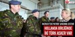 Patriot bataryasında iki Türk asker