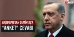 "Başbakandan Demirtaşa ""anket"" cevabı"