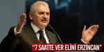 """ 7 saatte ver elini Erzincan"""