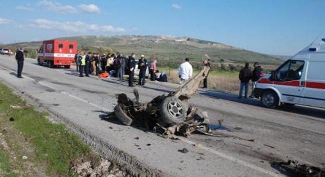 İzmirde korkutan kaza