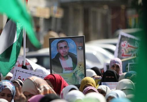 Filistinde kızgınlık yürüyüşü
