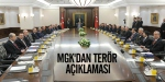 MGKdan terör açıklaması