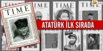 Atatürk ilk sırada