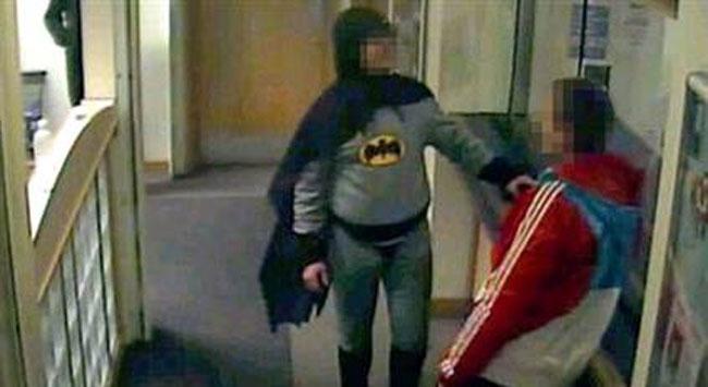 Batman işbaşında..
