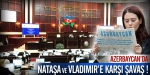 Azerbaycandan Nataşa ve Vladimire savaş!