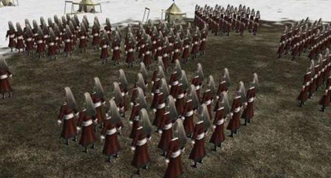 Osmanlı savaşları oyun oluyor