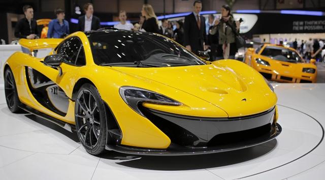 Son model otomobiller Cenevrede yarışıyor