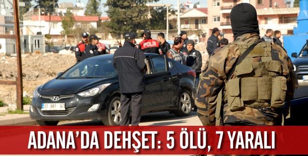 Adanada iki aile arasında çatışma: 5 ölü