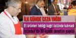 İstanbuldaki sucuk denetiminde ceza yağdı
