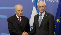 İsrail Cumhurbaşkanı Peres Brüksel'de