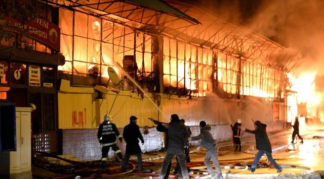 İşte 680 dükkanı kül eden yangının nedeni