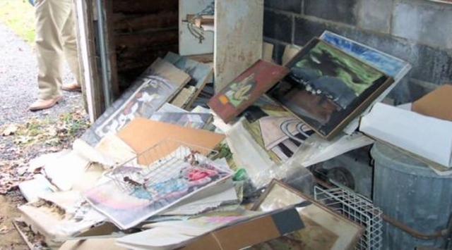 Bodrum ve çatı katından çıkan servet