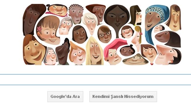 Google kadınları unutmadı