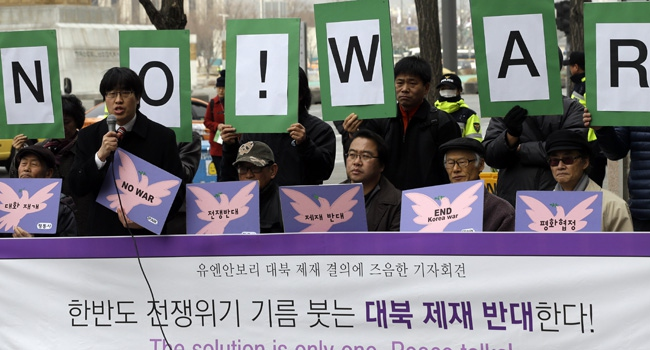 Kuzey Kore gerilimi tırmandırıyor