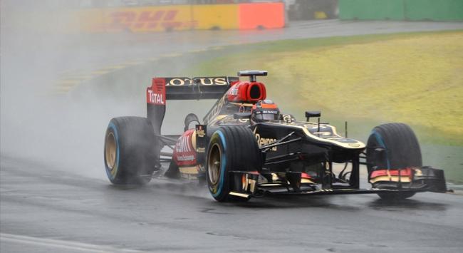 Formula 1e yağmur engeli