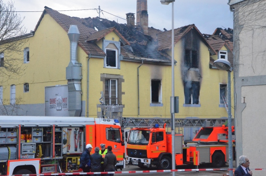 Alman polisi yangının nedenini açıklayacak