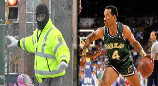 Eski NBA yıldızı, cüssesine uygun iş buldu