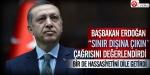Başbakan Erdoğan mesajı değerlendirdi